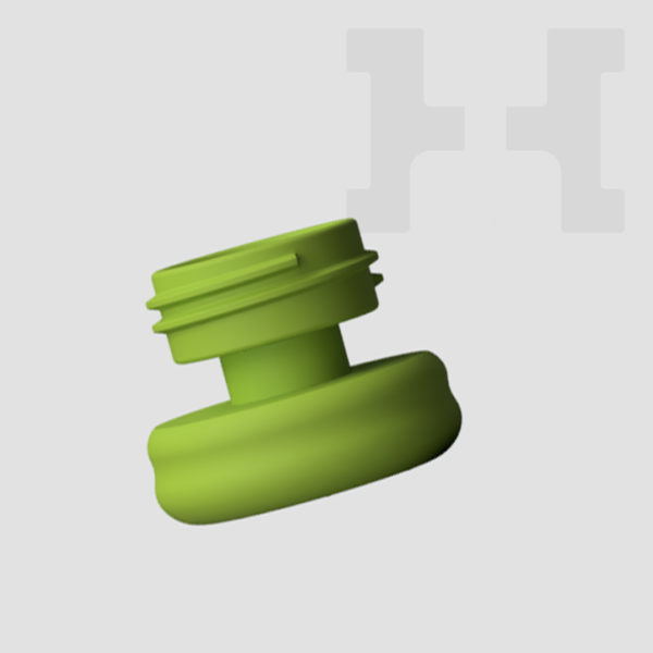 Hobby Holder Painting Handle and Grip - Fresh Green Base